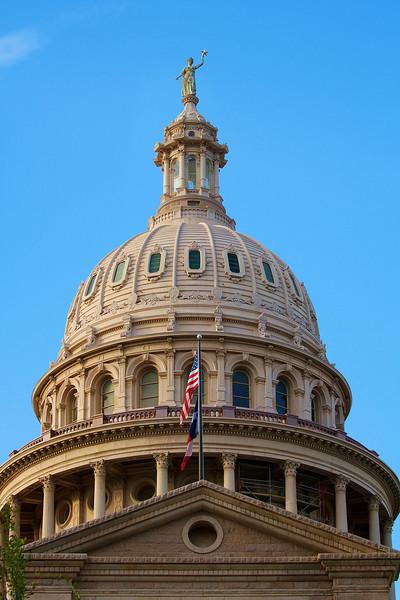 Texas State Capitol Dome - Austin, Texas