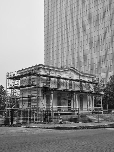 Mansion Under Renovation - Austin, Texas