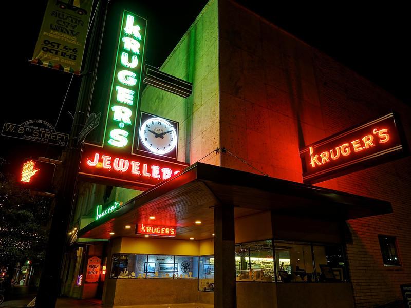 Kruger's Jewelers, Congress Avenue - Austin, Texas