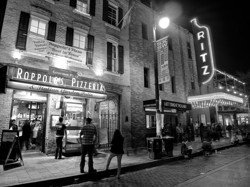 Roppolo's and Ritz, 6th Street - Austin, Texas