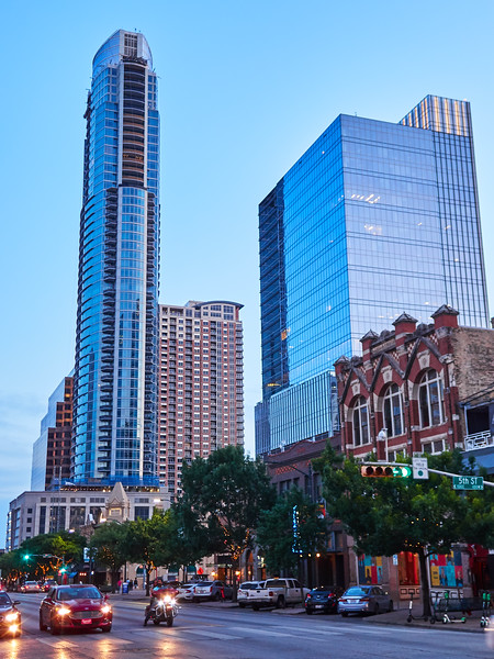 A Slim Building for Rich People - Austin, Texas