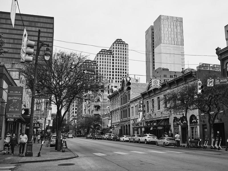 San Jacinto and 6th Streets - Austin, Texas