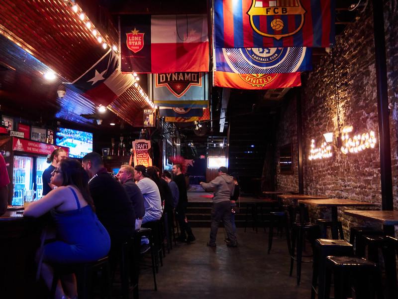Bar Flags, 6th Street - Austin, Texas
