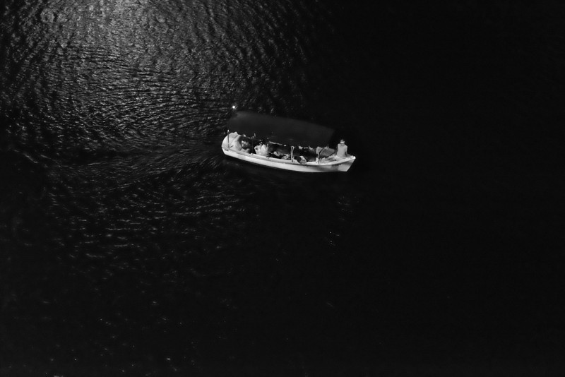 Into Darkness,  Lady Bird Lake - Austin, Texas
