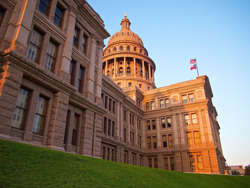 Texas State Capitol, Afternoon Light - Austin, Texas