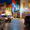 A Kia on 6th Street - Austin, Texas