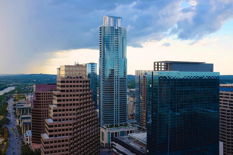 Downtown Austin from the Four Seasons Residences  - Austin, Texas