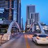Motion Blur on 2nd Street - Austin, Texas