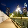 Bridge and Skyline - Austin, Texas