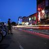 ROT Rally Light Trails - 6th Street, Austin, Texas