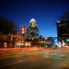 6th Street Light Trails - Austin, Texas