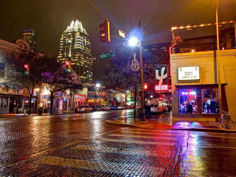 6th Street and Trinity - Austin, Texas