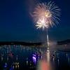 Fireworks over Lake Austin (2014) - Austin, Texas