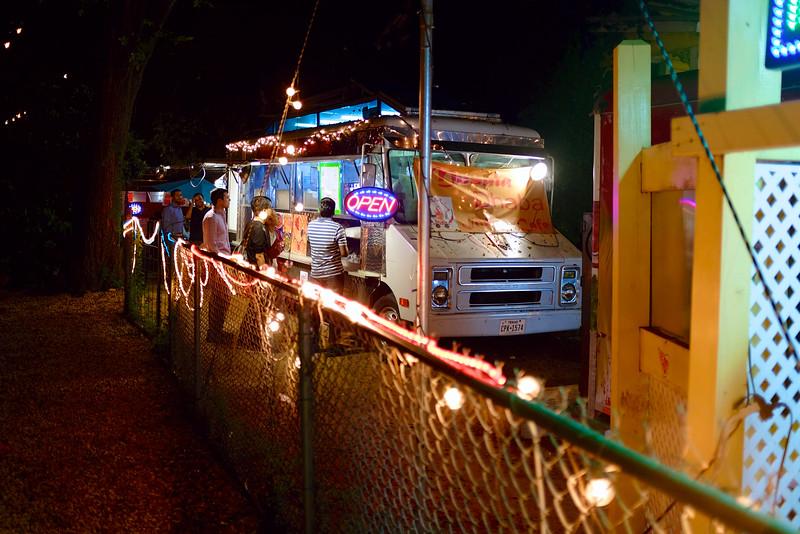 Food Trucks on Rainey Street - Austin, Texas