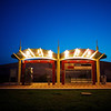 Crestview Station Blue Hour - Austin. Texas