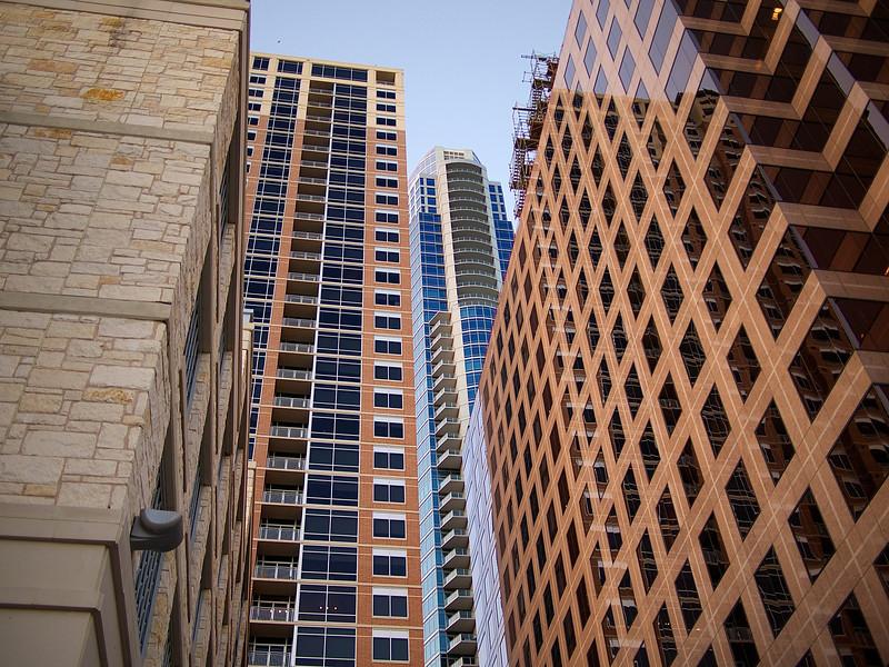 Skyscraper Texture, Downtown - Austin, Texas