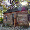 Swedish Log Cabin, Zilker Botanical Garden - Austin, Texas