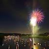 Fireworks over Lake Austin (2010) - Austin, Texas