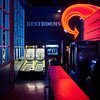Restroom Neon, Punch Bowl Social - Austin, Texas