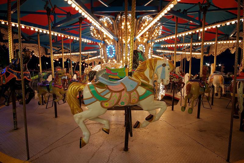 Carousel Horses, Rodeo Austin - Austin, Texas