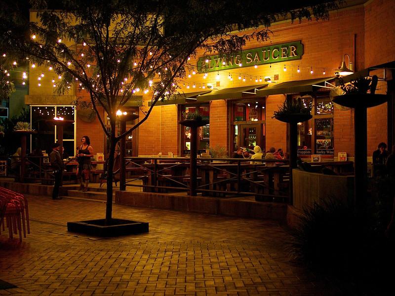 Warm Glow, Flying Saucer - Austin, Texas