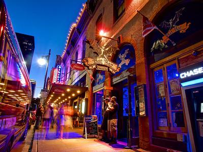 A wild night on 6th Street - Austin, Texas