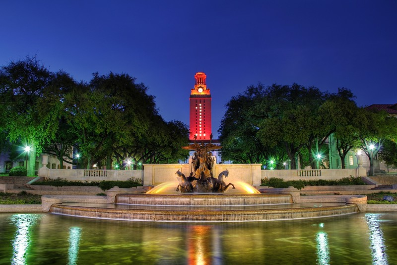 Number One, University of Texas - Austin, Texas
