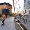 New Library and 2nd Street Bridge - Austin, Texas