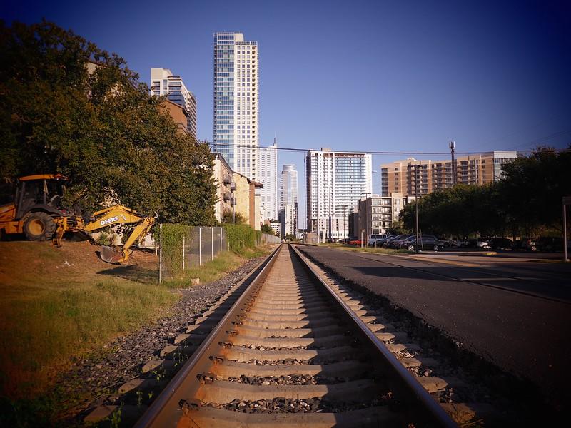 A train to downtown - Austin, Texas