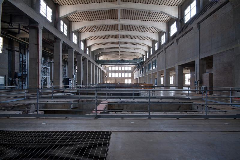 Seaholm Power Plant Generator Room - Austin, Texas