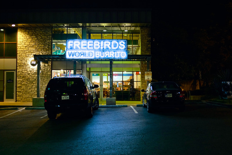 Freebirds Glow, South Congress Avenue - Austin, Texas