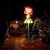 Spider House Lamp Post - Austin, Texas