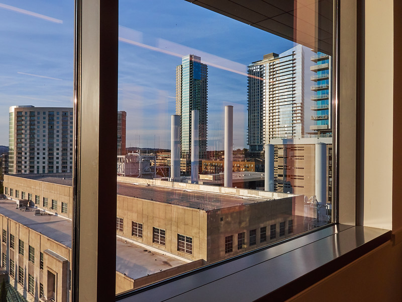 West from the Library - Austin, Texas