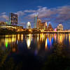 Downtown Skyline and Lady Bird Lake - Austin, Texas
