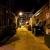 Alleyway behind 6th Street - Austin, Texas