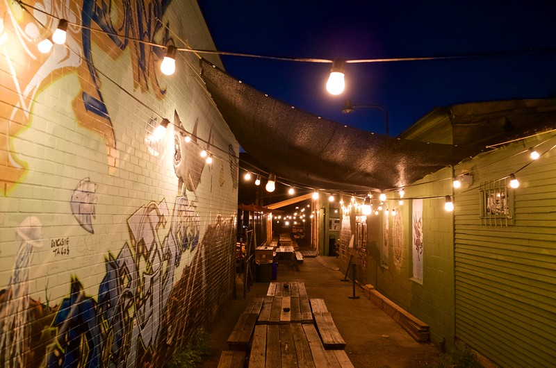 The Hole in the Wall Alleyway - Austin, Texas
