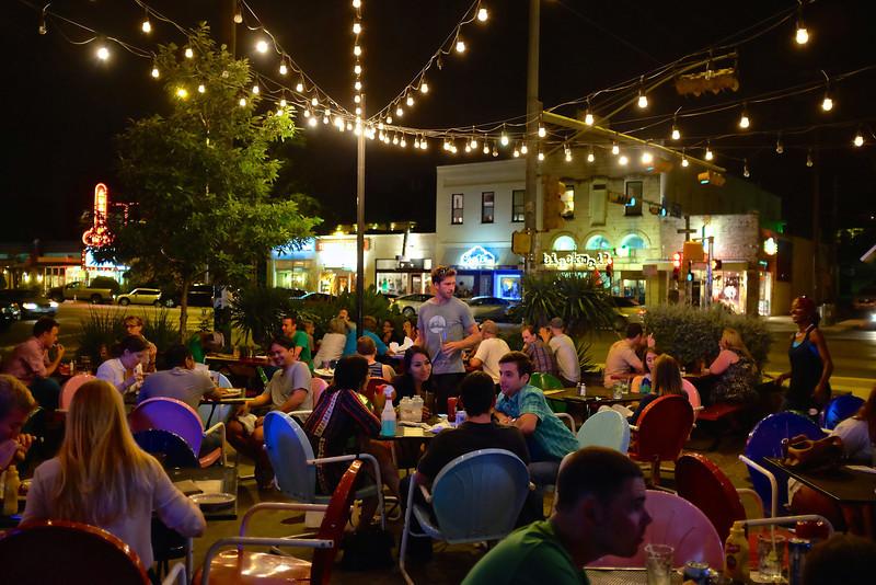 Doc's Patio at Night, South Congress - Austin, Texas
