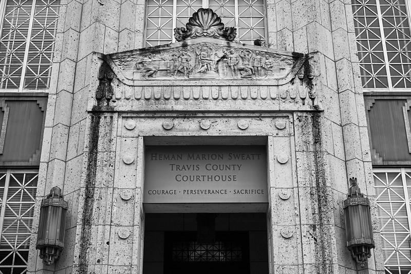 Old Architectural Details - Austin, Texas
