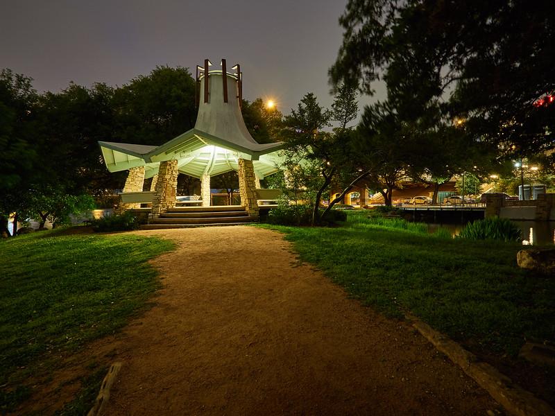 Pavilion, Auditorium Shores - Austin, Texas