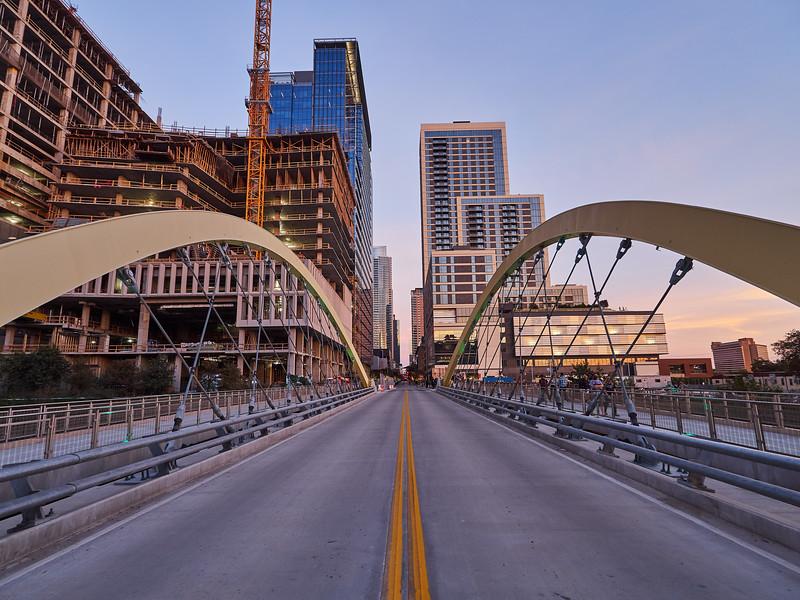 2nd Street Bridge, Completed - Austin, Texas