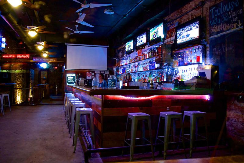 Bar Interior #2, 6th Street - Austin, Texas
