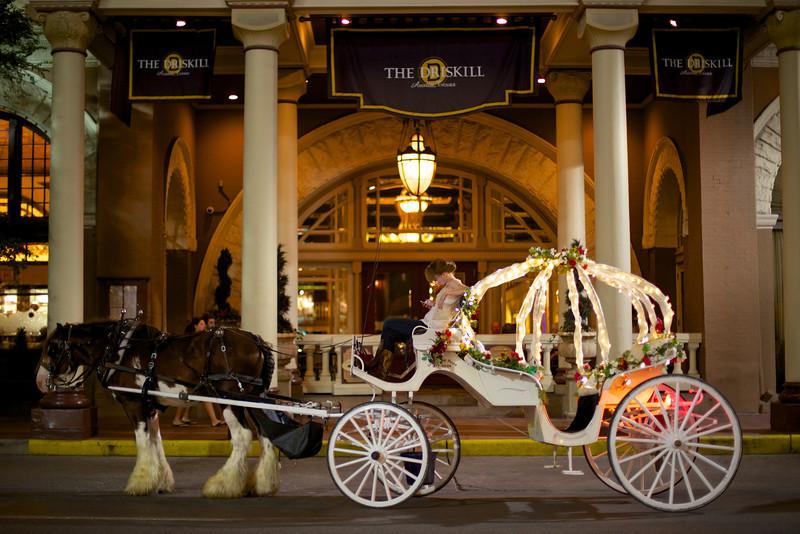 Driskill Hotel Carriage, 6th Street - Austin, Texas