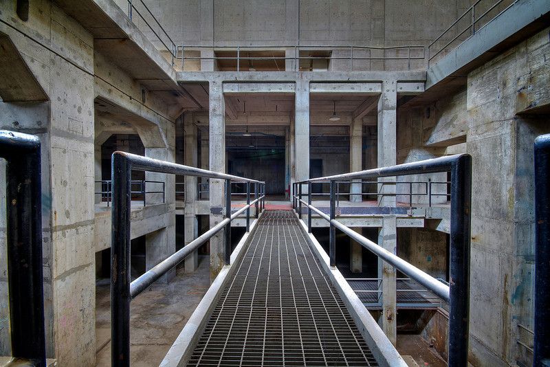 Seaholm Power Plant, Lower Level - Austin, Texas