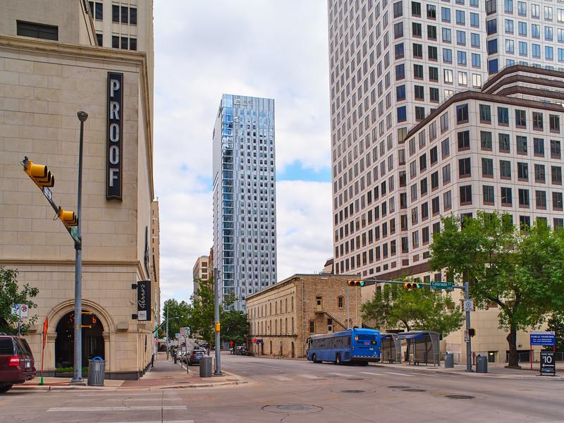 Downtown Aloft Framed - Austin, Texas