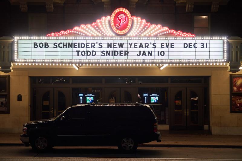 New Year's Eve, Paramount Theater - Austin, Texas