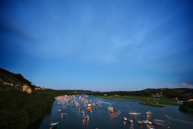 Lake Austin Blue Hour - Austin, Texas