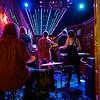 Bar Performance with Drama, 6th Street - Austin, Texas