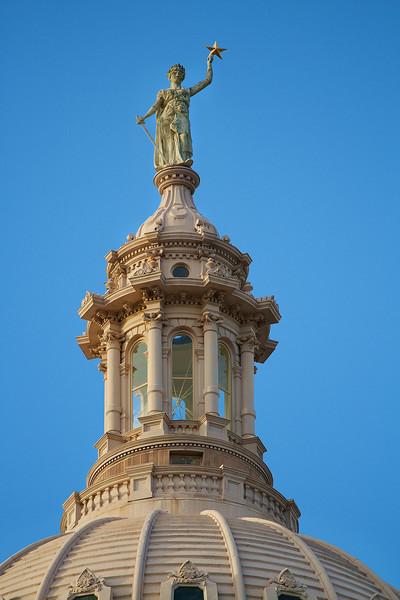 Texas State Capitol Statue - Austin, Texas