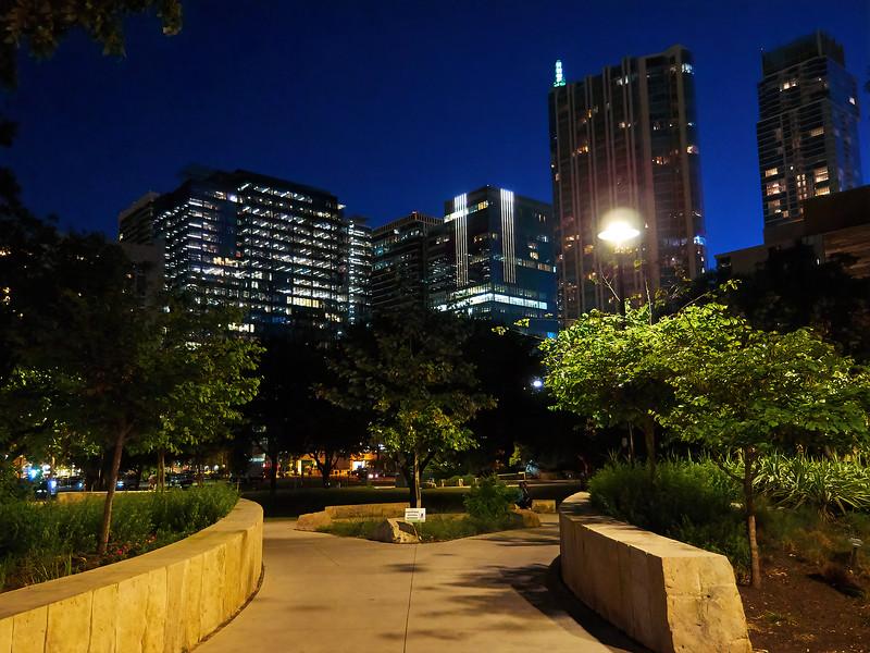 Republic Square Blue Hour - Austin, Texas