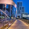 Sidewalk, 2nd Street Bridge - Austin, Texas